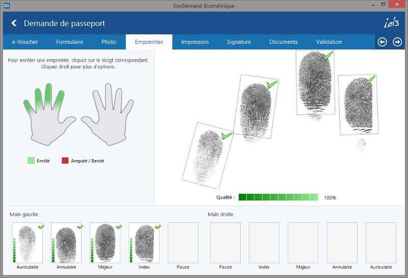 Fingerprint capture